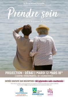 AFFICHE PROJECTION FILM COURBEVOIE 12032019
